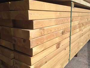 """Kiln Dried Regularised Sawn Treated Timber C16/C24 47x150mm (6""""x2"""")"""