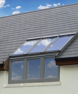 Keylite Vertical Bi-Lite Roof Window