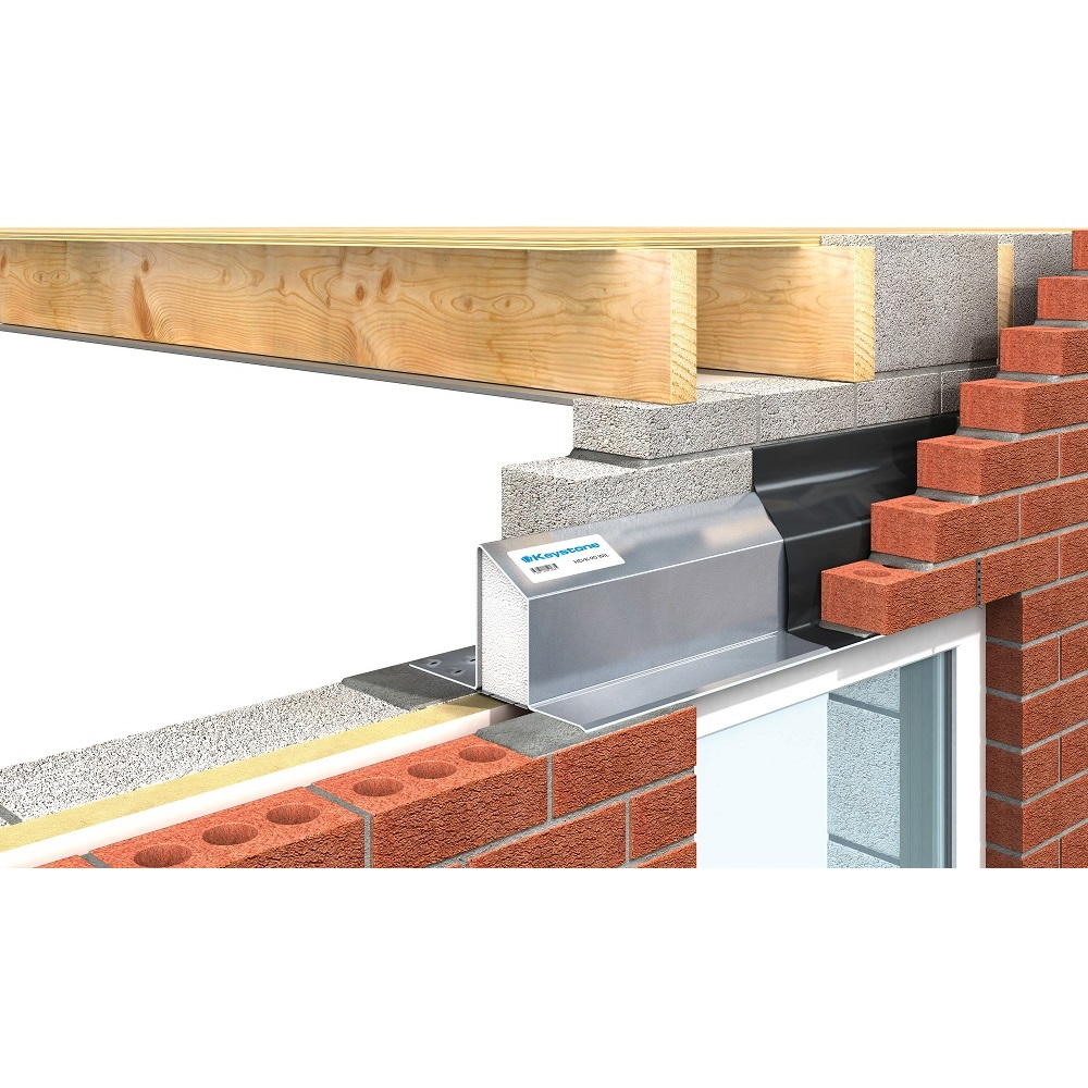 Keystone Cavity Wall - Wide Inner Leaf Lintels