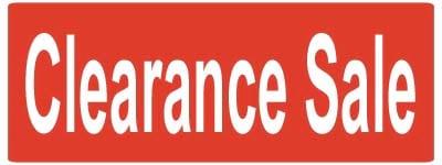 Shop Clearance Sale
